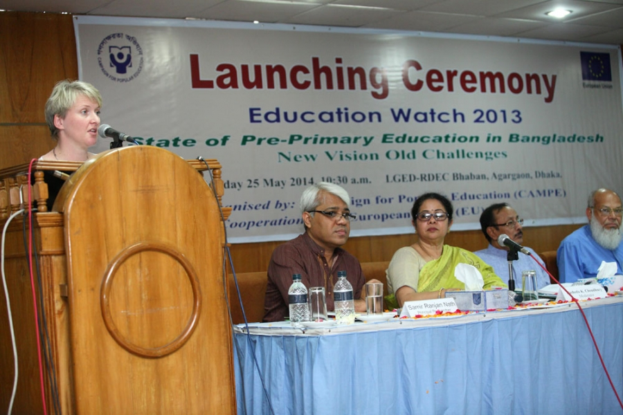 Education Watch Launching 2013