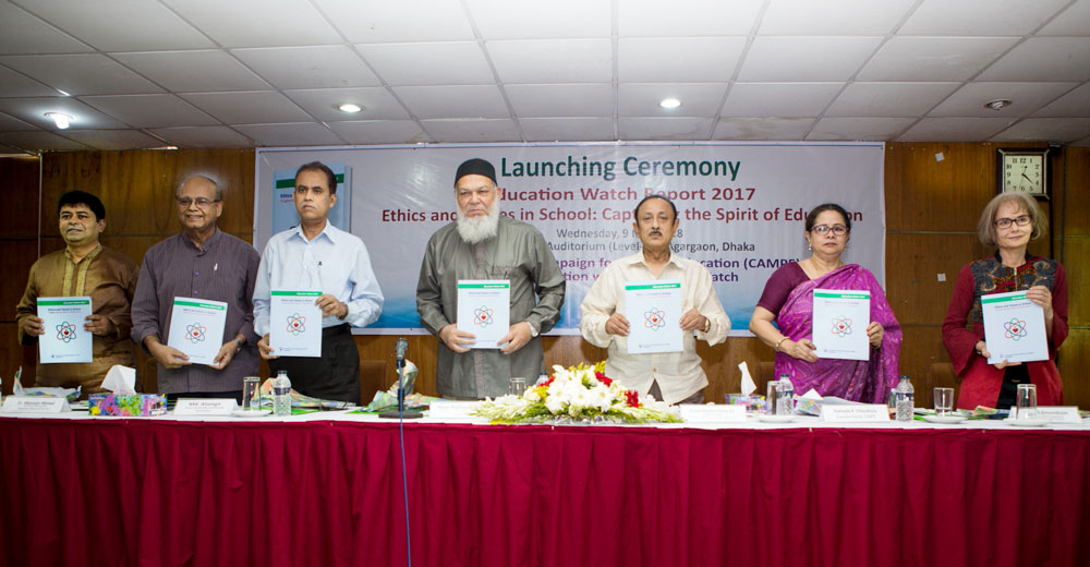 Launching Ceremony of Education Watch Report 2017